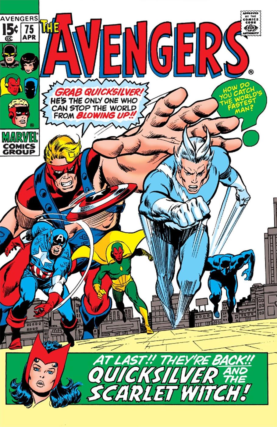 Avengers #75